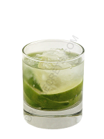 Caipiroska cocktail image