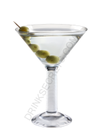Dry Martini cocktail image