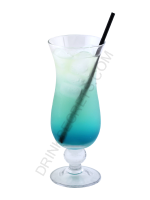 Electric Smurf cocktail image