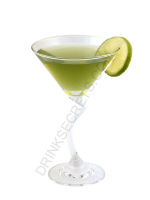 Italian Apple Martini cocktail image