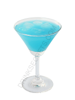 Aquarium cocktail image