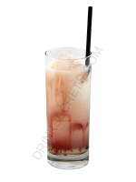 Banana Berry cocktail image