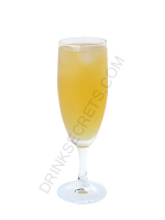 Bellini Glace cocktail image