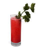 Bloody Senorita cocktail image