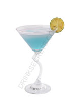 Blue Devil cocktail image