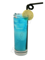 Blue Lagoon cocktail image