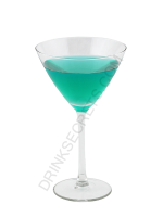 Bluegreeni cocktail image