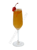 French 75 cocktail image