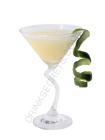 Gin and Lime cocktail image