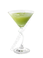 Green Widow cocktail image