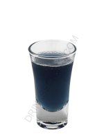 Hologram cocktail image