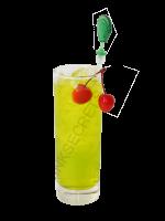 Midori Sour cocktail image