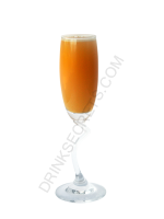 Peach Mimosa cocktail image