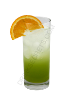 Peachy Green cocktail image