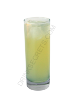 Pineapple Fizz cocktail image