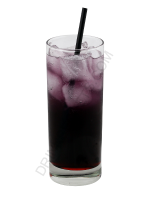 Purple Slurpee cocktail image