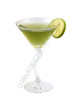 Italian Apple Martini drink recipe image