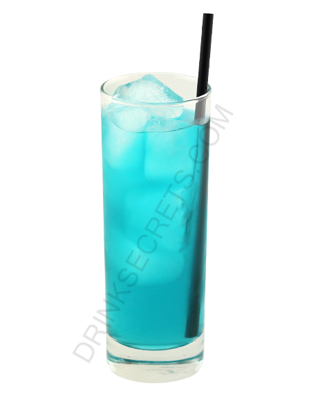 Bar drinks blue mother fucker