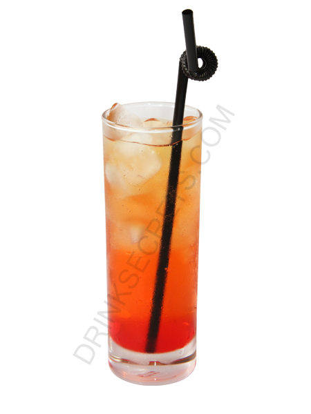 Singapore Sling drink recipe - all the drinks have pictures