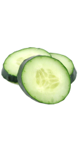 Cucumber (slices) drink ingredient