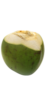 Green Coconut  (fresh)  drink ingredient