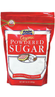 Powdered sugar drink ingredient