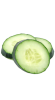 Cucumber (slices) ingredient